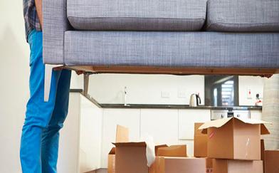 Trasporto mobile divano